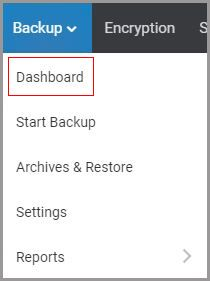 1. Click on Dashboard