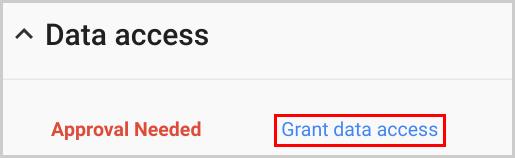 19. grant data access