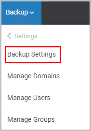 Backup settings-1