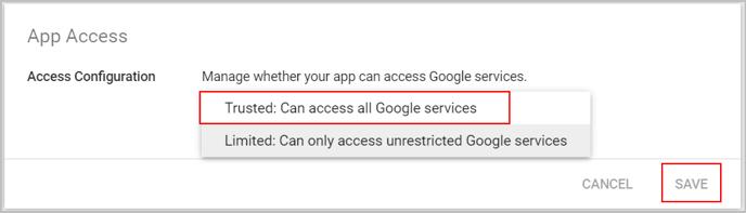 Configure app access (1)