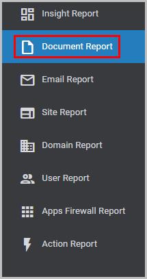 Document report