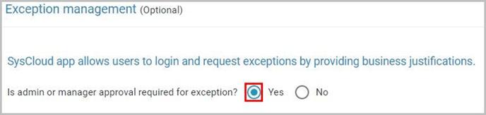 Exception management-1