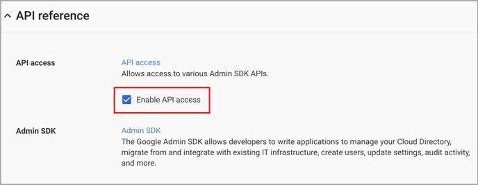 Fix restore_enable api access