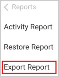 Office 365 export report option-1
