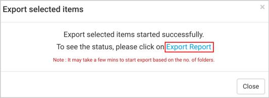 Office 365 export report