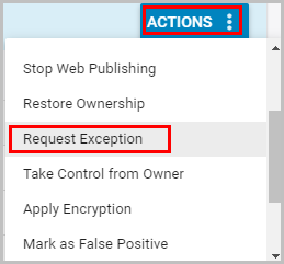 Request Exception