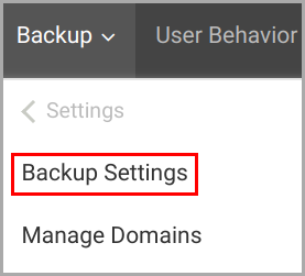 Start backup issue_backup settings-1