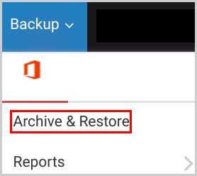 backup_o365_archive restore
