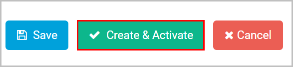 create and activate