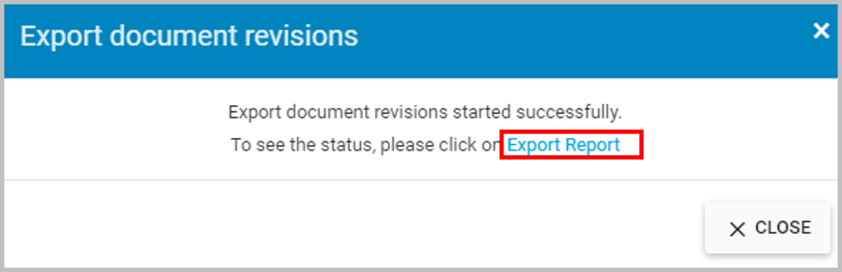 export document revisions