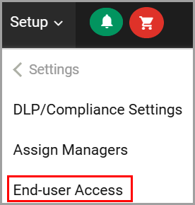 End-user access