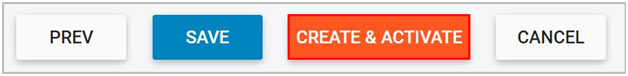 Create & activate